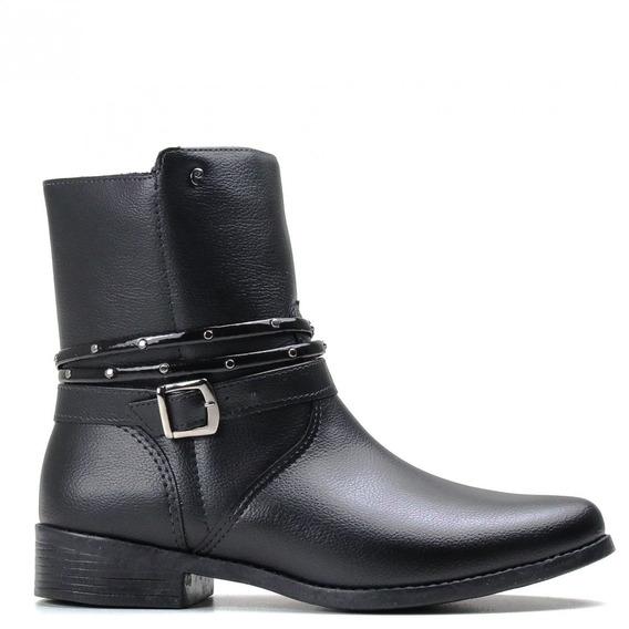 Bota Infantil Pampili Ankle Boots Zíper 279064