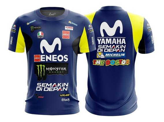 Camiseta Valentino Rossi Camisa Moto Gp Motogp Lu.008