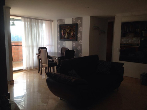 Imagen 1 de 14 de Esplendido Apartamento Amoblado En Arriendo - Sector Belen C