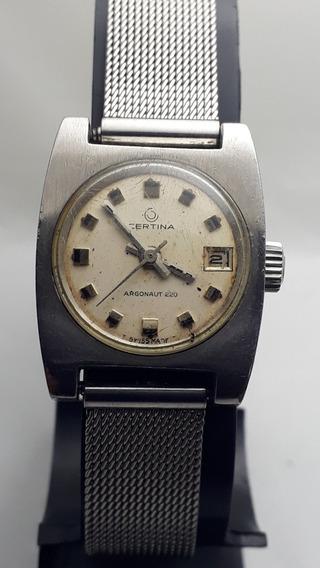 Relógio Certina Argonaut 220 Feminino
