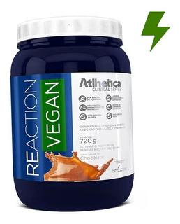 Reaction Vegan 720g - Whey Vegano - Atlhetica Nutrition