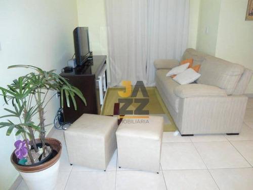 Apartamento Com 2 Dormitórios À Venda, 62 M² Por R$ 276.000,00 - Ortizes - Valinhos/sp - Ap6667