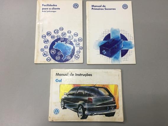 Manual Proprietário Gol Cli - Gli - Gti - 1997 - Original