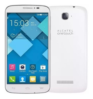 Smartphone Alcatel Pop C7 Dual 704br Branco Tela 5 Câm 5mp