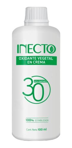 Oxidante En Crema Vegetal Inecto De 30 Volumenes X 100ml