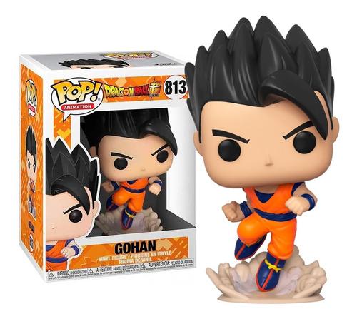 Boneco Funko Pop Gohan 813 Dragon Ball Super Original