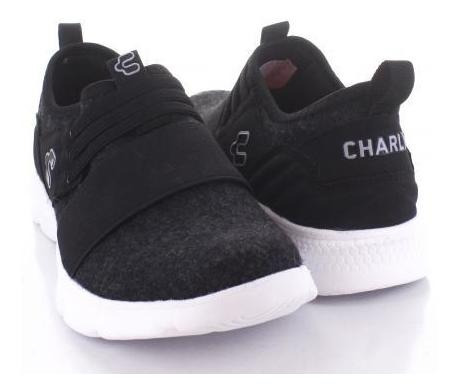 Tenis Para Mujer Charly Ct1006-056152 Color Negro