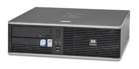 Pc Cpu Ddr2 Hp Core 2 Duo 2gb Hd80gb Gravador Dvd