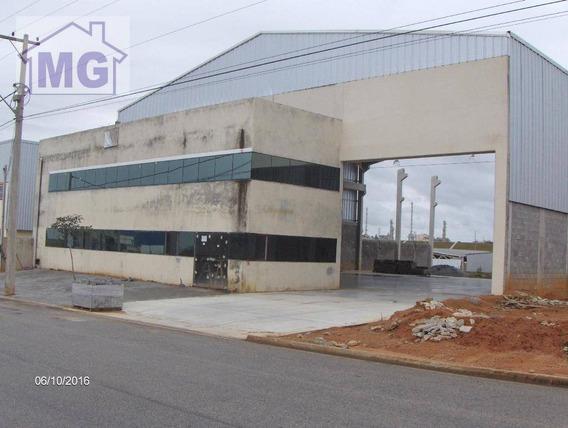 Galpão Industrial Para Locação, Cabiúnas, Macaé. - Ga0020