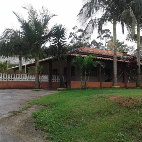 Chácara À Venda, 4 Quartos, 1 Suíte, Cocuera - Mogi Das Cruzes/sp - 1366