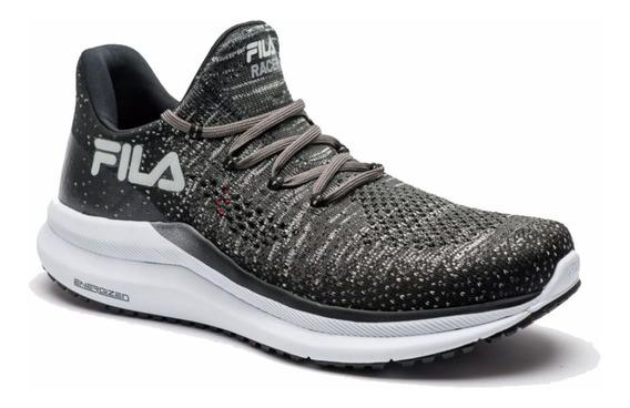 Tenis Fila Racer Knit Energized Running Training Preto