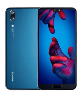 Huawei P20 128gb Nuevo Color Azul Permuto Por Pc Gamer
