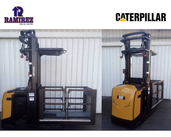Autoelevador Order Picker Caterpillar Capacidad 1000kg