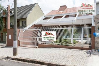 Sobrado Com 7 Dormitórios À Venda, 870 M² Por R$ 4.500.000 - Santa Quitéria - Curitiba/pr - So0316