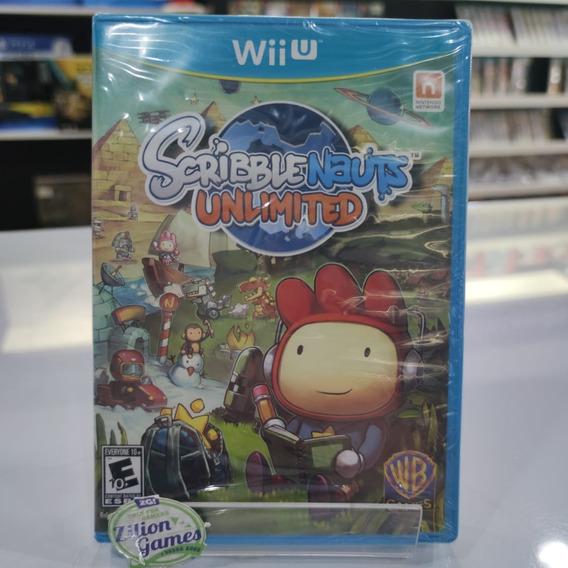 Scribblenauts Unlimited Nintendo Wii U Novo Lacrado