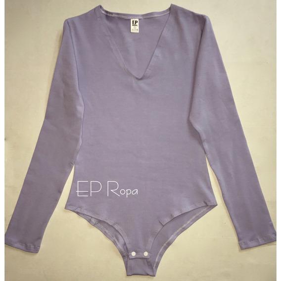 Blusa Body Cuello V Para Mujer Ajusta Al Cuerpo Envío Gratis