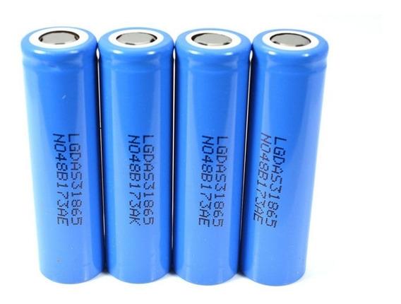 Kit 4 Bateria 18650 Lg Original Lgdas31865 2200mah