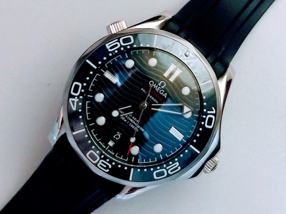 Relógio Mod. Seamaster Blue Dial Automático