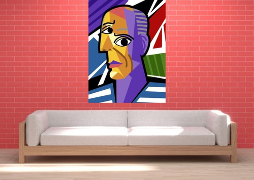 Imagen 1 de 2 de Cuadros Decorativos Y Personalizados- Famosos- 60x90 Cm.