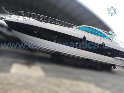 Lancha Cimitarra 500 Ht Barco Iate N Phantom Ferretti Azimut