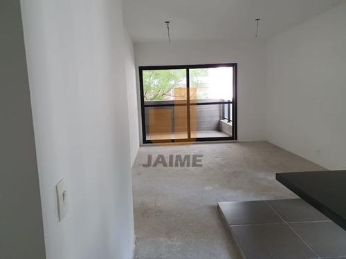 Apartamento Novo, 01 Dormitorio, 01 Vaga Em Higienopolis - Ja10610