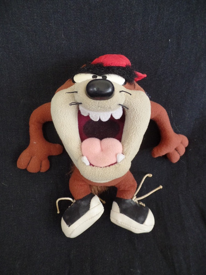 Boneco De Pelúcia Taz Mania - Looney Tunes - 22cm