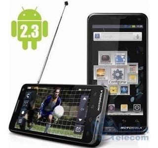 Smartphone Motorola Atrix Tv Xt682 Cinza Com Touch Quebrado