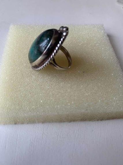 Anillo Plata Piedra Semipreciosa