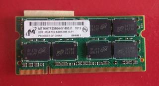 2 Gb Memoria Ram Ddr2 Pc2 6400s