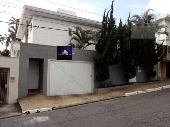 Sobrado Residencial, Para Locação, 350 M 2 - São Paulo/sp - So0207