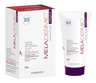 Despigmentante De Noche Meladermic Night Crema Facial