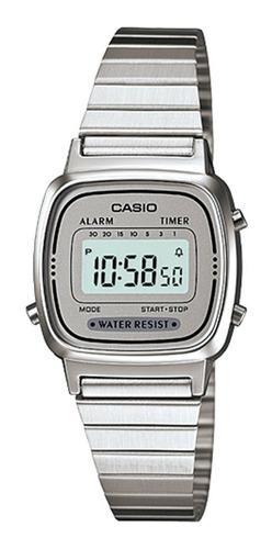 Reloj Mujer Casio Retro Vintage La670wa-7 Wr Gtia 2 Años