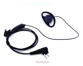 Fone C/ Microfone De Lapela Ptt P/ Motorola Ht Ep-450 Dtr620