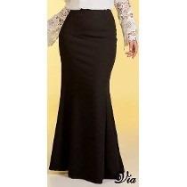 Linda Saia Moda Evangelica Elegante Cod#1004