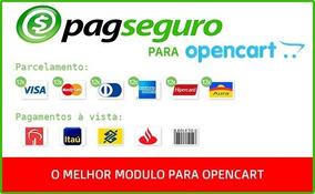 Modulo Pagseguro Transparente Opencart 2.0 - 3.0