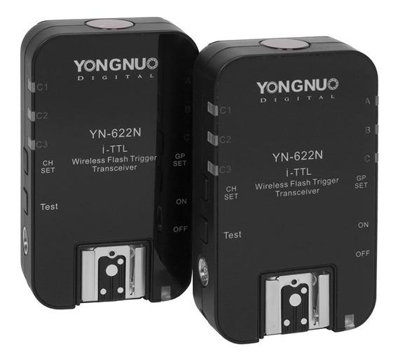 Rádio Flash Yongnuo Yn-622n Ii I-ttl (para Nikon)