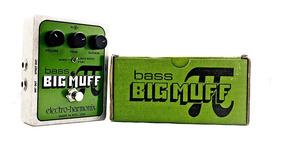 Pedal Electro Harmonix Ehx Bass Big Muff Pi Fuzz Nyc Usa