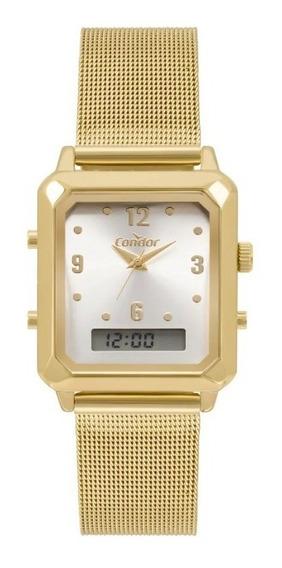 Relógio Condor Digital Anadigi Quadrado Cobj3718ab/4k