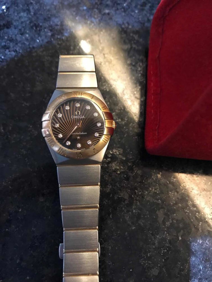 Omega Constellation Dama Con Oro Rosa