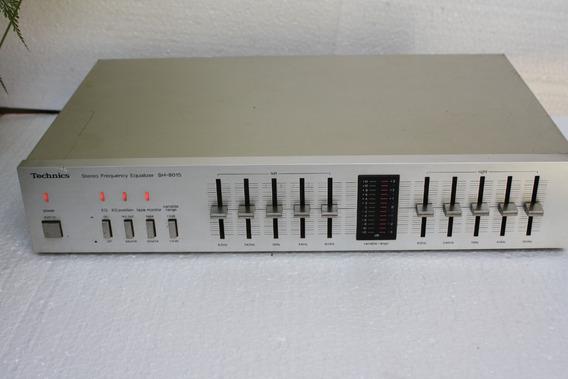 Equalizador Techinics Mod.sh- 8015, Stereo , Leia Todo Anunc
