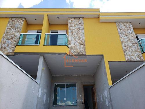 Sobrado Com 3 Dormitórios À Venda Por R$ 340.000,00 - Vila Progresso (zona Leste) - São Paulo/sp - So0128