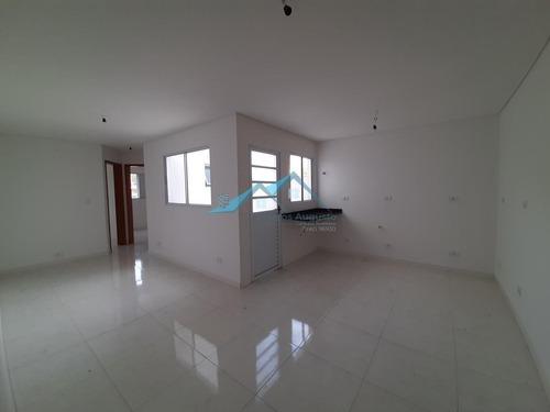 Apartamento Para Venda Em Santo André, Jardim Utinga, 2 Dormitórios, 1 Banheiro, 1 Vaga - Apc62_1-1627331