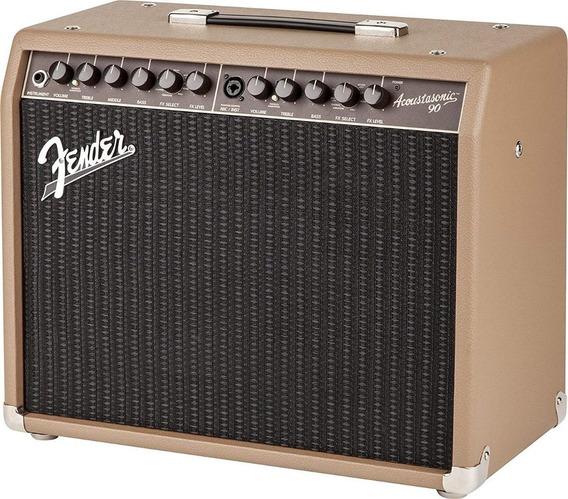 Amplificador Fender Acoustasonic 90 Guitarra Acustica Cuotas
