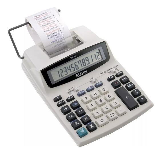 Calculadora Eletonica C/ Bobina Bivolt110/220ma-5121 Elgin