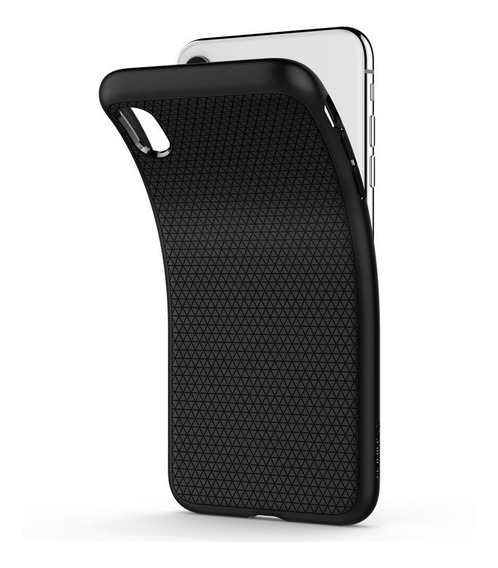Funda Spigen iPhone Xs X 10 Liquid Air Black