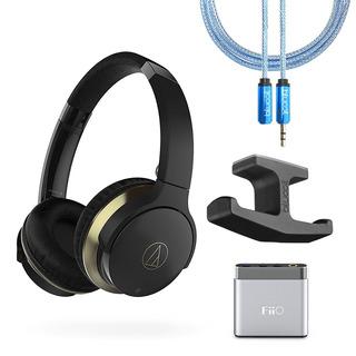 Audifono Bluetooth Audio-technica Con Amplificador + Soporte