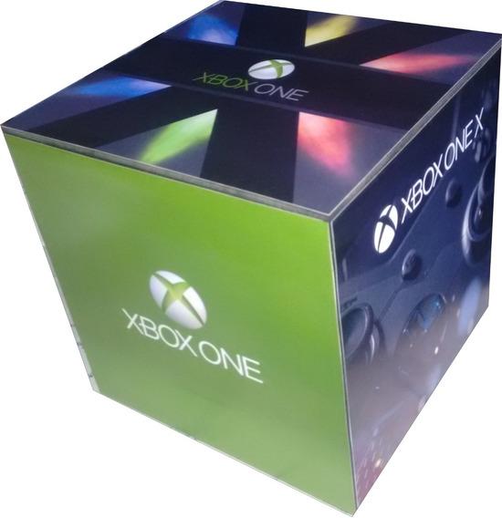 Xbox One Caixa Organizadora Games Ps4 Ps3 Vários Temas