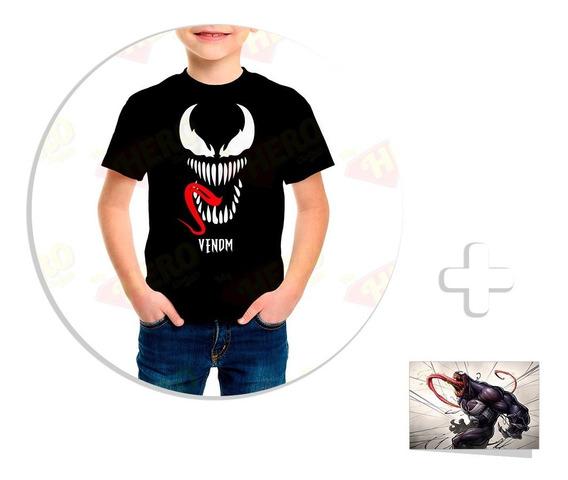 Envío Gratis Playera Venom Movie 2018 Bebé / Niño + Sticker