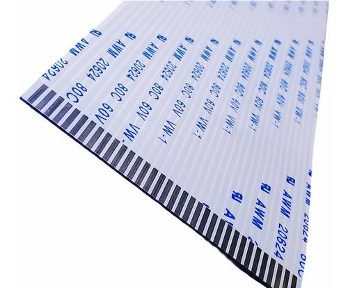 Cable Flex Membrana 34pines X 300mm Largo X 1mm Separacion