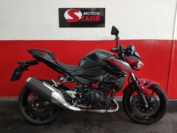 Kawasaki Z 400 Z400 Z-400 Abs 2020 Vermelha Vermelho